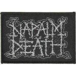 Napalm Death 'Logo' Patch - NEW