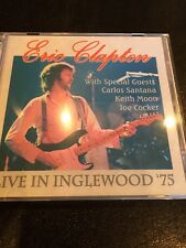 Eric Clapton Rare Numbered Live 2 Cd Calif. '75 Ltd. Ed. Santana Soundboard!