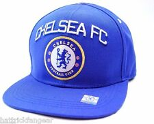 Chelsea FC Futbol International Soccer Football Club Flat Bill Snapback Cap Hat