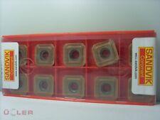 10 X SANDVIK R245-12T3E-KL 1020 WENDESCHNEIDPLATTEN CARBIDE INSERTS