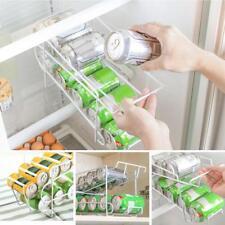 Beer Soda Coke Can Dispenser Refrigerator Beverage Rack Storage Organize Holder