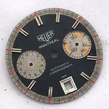 RARE VINTAGE HEUER MONTREAL DIAL FOR  AUTOMATIC CHRONOGRAPH CAl 11 CAL 12