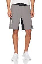 """Reebok Cv7712 Short Homme Gris Moyen FR XL (taille Fabricant 38"""")"""