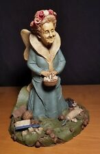 Tom Clark Gnome Tooth Fairy Edition #46 1985 Coa Retired Signed! Toothbrush