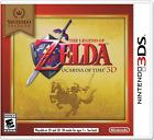 Zelda Ocarina of Time 3D - Nintendo Select (Nintendo 3DS, 2011) Brand New