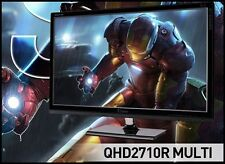 "QNIX - QHD2710R MULTI 27""  2560 x 1440 @ 60Hz QHD/ 16:9 / 1,000:1 / 10.7B color"