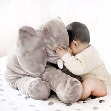 "Stuffed Elephant Animal Toy Teddy Bear Play Pillow Gray 23"" Large Big Soft Plush"