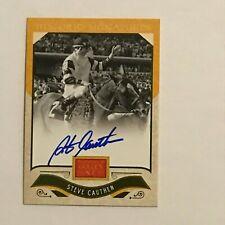 Steve Cauthen, 2012 Panini Golden Age Historic Signatures #9