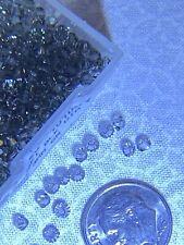 24 pcs Swarovski 3mm BLACK DIAMOND Bicone Faceted Beads