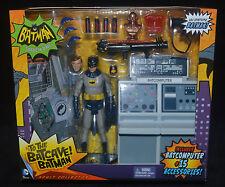 TO THE BATCAVE Classic TV Series w BATMAN Figure Action Playset Mattel MIP