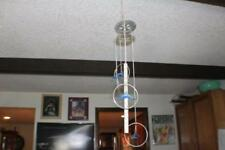 """New listing 26"""" long with 4 Plastic Dolphins Windchime Wind Chime Home Decor"""
