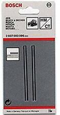 Bosch 2607000096 Fer de rabot droit carbure 35°