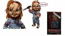 "CHILD'S PLAY 15"" SCARRED TALKING CHUCKY Mega scale figure with sound MEZCO 2015"