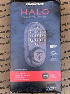Kwikset 938WIFIKYPD-S Halo SmartKey Electronic Keypad Keyless - Bronze