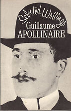 Selected Writings of Guillaume Apollinaire - New Directions Sixth Printing