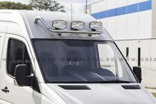 RAMPE DE PHARE INOX, PRE CABLE , VW CRAFTER 2007- GRANTI 6ANS, DIAM 60, POLI