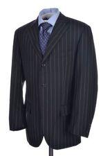 POLO RALPH LAUREN Corneliani Gray Striped Wool Mohair Jacket Pants SUIT - 40 R