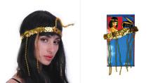 Cleopatra Headpiece Egyptian Beaded Headband Headdress Fancy Costume Sequin
