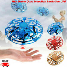 US Mini Drones Smart Hand Control Induction LED Helicopter UFO Drone Flying Toys