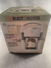 Black and Decker Lids Off Automatic Jar Opener, Model Jw200, Brand New