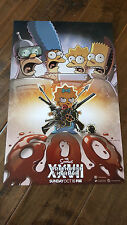 2016 SDCC COMIC CON EXCLUSIVE FOX POSTER THE SIMPSONS TREEHOUSE OF HORROR