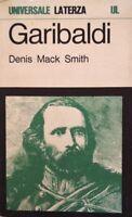 DENIS MACK SMITH GARIBALDI UNA GRANDE VITA IN BREVE LATERZA 1970