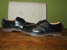 Black Leather Dr. Martens Shoes Size UK 8