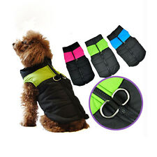 NEU Hundemantel Hundejacke Hundekleidung Wintermantel Hundepullover Weste S-XL
