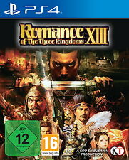 Romance Of The Three Kingdoms XIII (PS 4, 2016) NEU+OVP