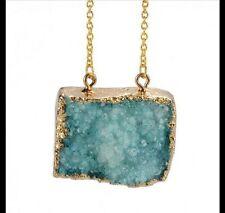Modeschmuck-Halsketten aus Edelstein mit Amethyst-Hauptstein