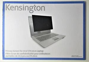 """Kensington K55782WW Laptop Privacy Screen 14.1"""""""