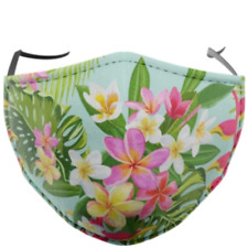 Aus Flower Face Mask - Quality, Reusable,Washable,Soft,Comfortable,Free SHIP