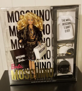 Moschino Barbie Doll Caucasian Blonde NRFB Product Code CHX10 VERY EXCELLENT