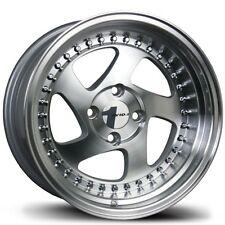 Avid1 AV19 16X8 Rims 4x100 +25 Machined New Wheels (Set of 4)