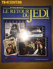 Panini Star Wars Return of the Jedi full Sticker Empty French Album Factory Mint