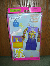 "Barbie #29156 Fashion Avenue Animation Styles ""Bashful Bunny"" Outfit  New"