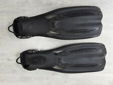 Sherwood  diving Fins , open heal size M 9-10 black used