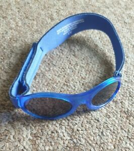 Baby Banz blue sunglasses age 0-2 years
