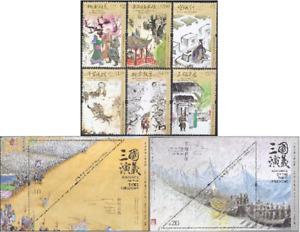 China Hong Kong 2021 Novels Literature - Romance Three Kingdoms Stamp+2 sheetlet