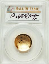2014-W $5 Baseball Hall of Fame Gold Five Dollar, Roberto Alomar Signature PR70