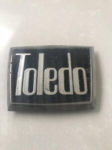 CLASSIC VINTAGE TRIUMPH TOLEDO BADGE EMBLEM