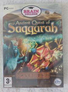 39662 - Ancient Quest Of Saqqarah [NEW / SEALED] - PC (2009) Windows XP
