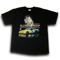 Chase Authentics Dale Earnhardt Sr And Jr Tee Black NASCAR Shirt Men's Size XL