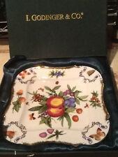 I. Godinger decorative square dish plate