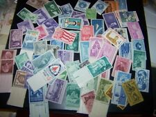 50-80 YEAR OLD Mint US Postage Vintage Stamp Collection in Glassine  buy2 get 1f