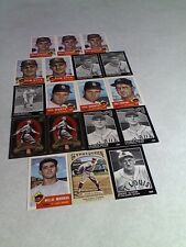 St. Louis Browns Cards:  Lot of 55 cards.....28 DIFFERENT / Baseball