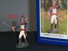 Collectors Showcase cs00699 Francese Vecchia Guardia Ufficiale Di Metallo Giocattolo Soldato Figura