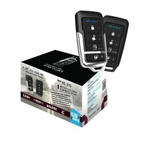 EXCALIBUR RS-370 - Remote Start & Keyless Entry system with up to 1,500ft range