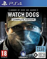 Watch Dogs Complete Edition For PS4 (New & Sealed)