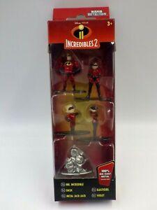 FIGURINE DISNEY INDESTRUCTIBLE 2 Pixar  metalfigs pack 5 Pcs métal figure neuf